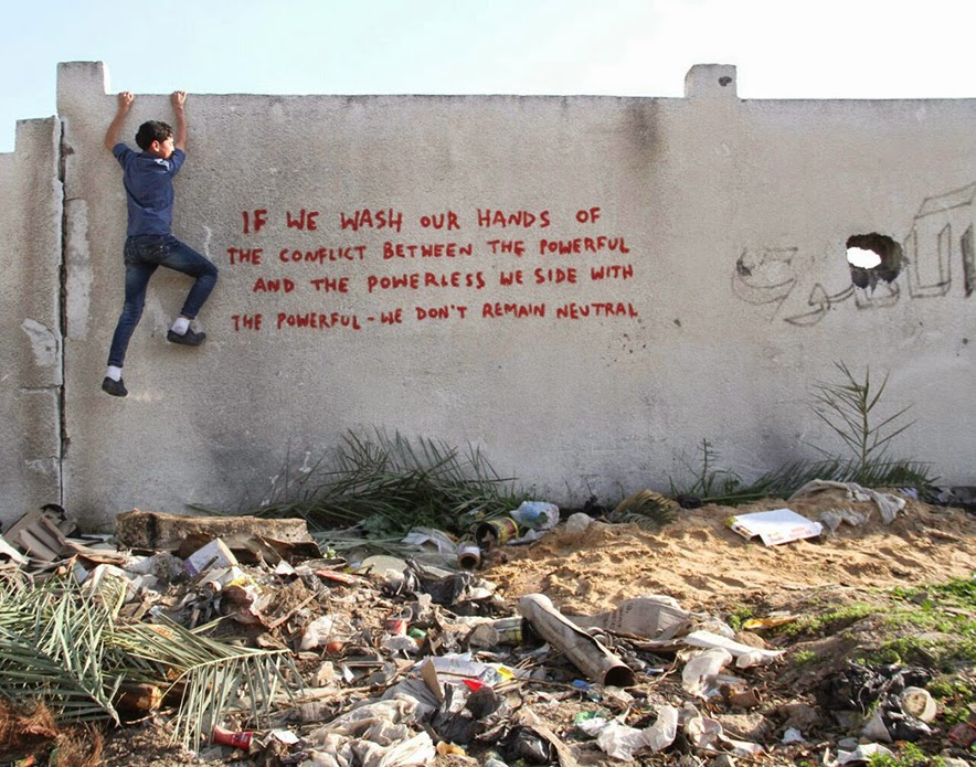 Banksy in Gaza, 2/15
