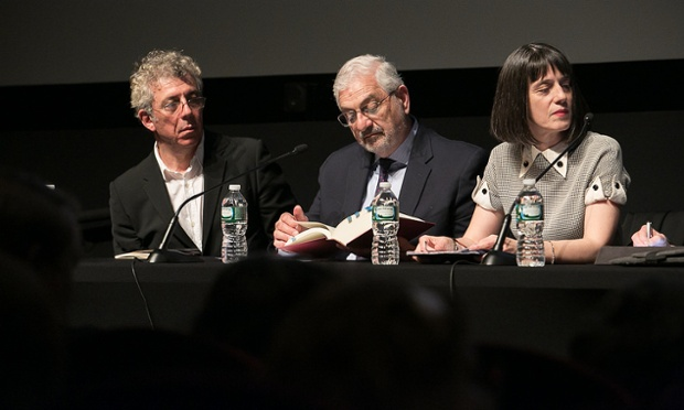 Eric Bogosian, Ronald Suny, and Nancy Kricorian at PEN World Voices Armenian Genocide Panel, 6 May 2015
